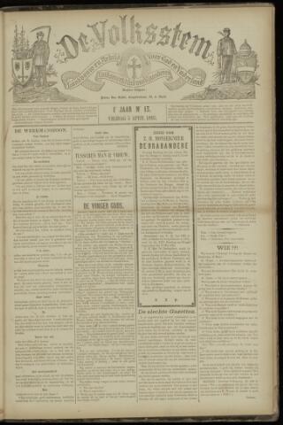 De Volksstem 1895-04-05