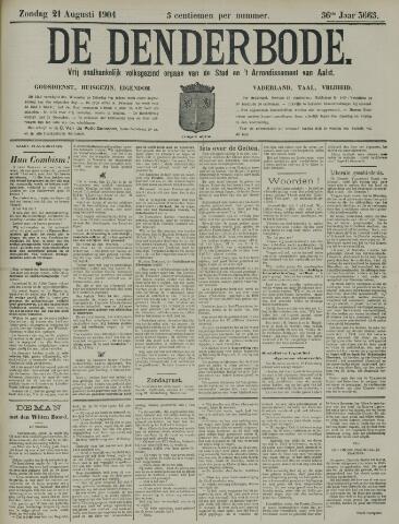 De Denderbode 1904-08-21