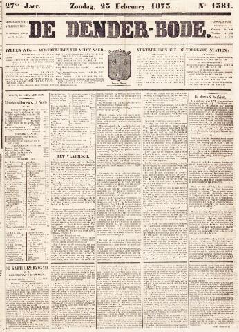 De Denderbode 1873-02-23