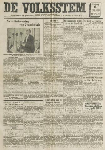 De Volksstem 1938-12-16