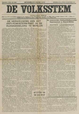 De Volksstem 1941-11-27
