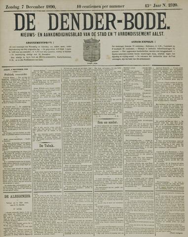 De Denderbode 1890-12-07