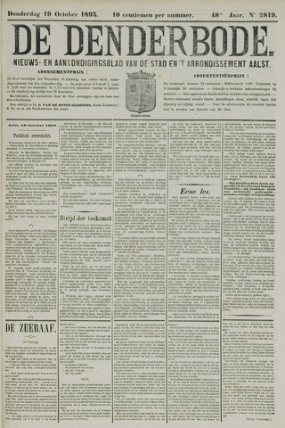De Denderbode 1893-10-19