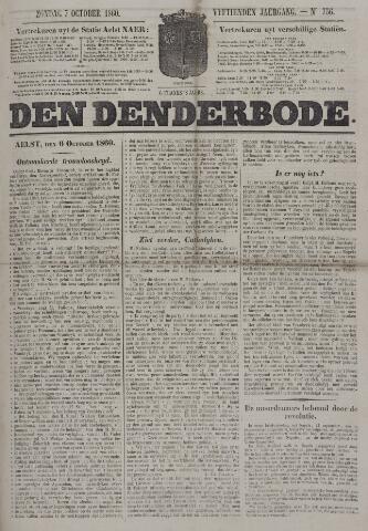 De Denderbode 1860-10-07