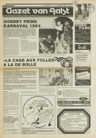 Nieuwe Gazet van Aalst 1984-02-17