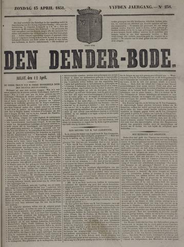 De Denderbode 1851-04-13