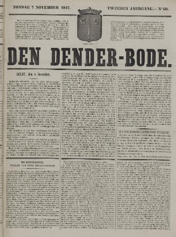 De Denderbode 1847-11-07