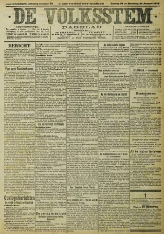 De Volksstem 1915-01-24