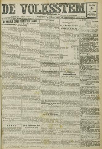 De Volksstem 1931-02-24