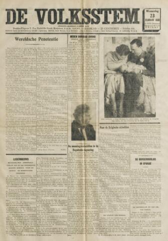 De Volksstem 1938-02-23