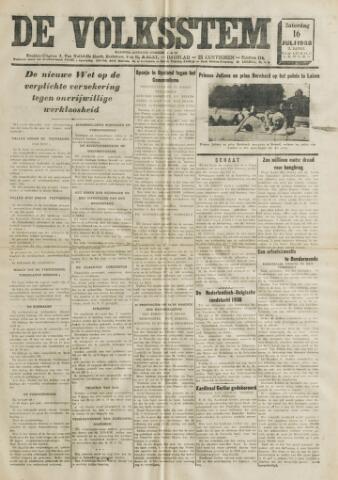 De Volksstem 1938-07-16