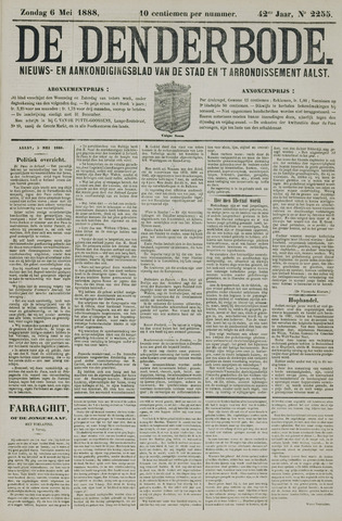 De Denderbode 1888-05-06