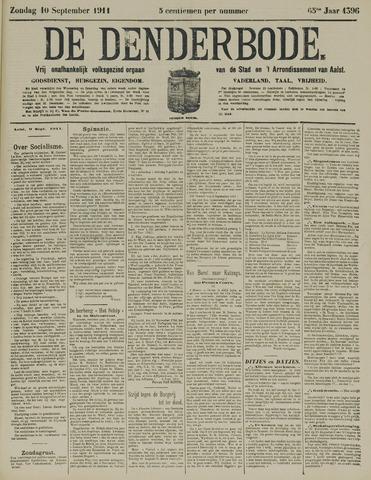 De Denderbode 1911-09-10