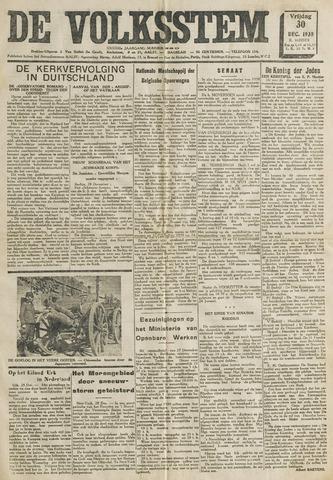 De Volksstem 1938-12-30