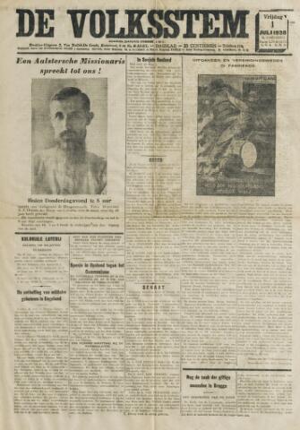De Volksstem 1938-07-01