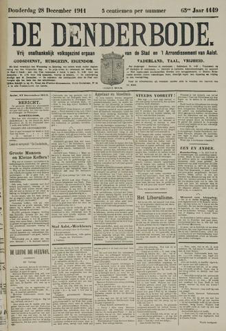 De Denderbode 1911-12-28