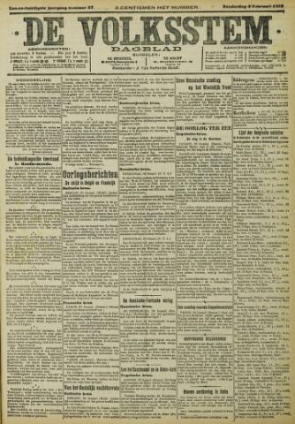 De Volksstem 1915-02-04