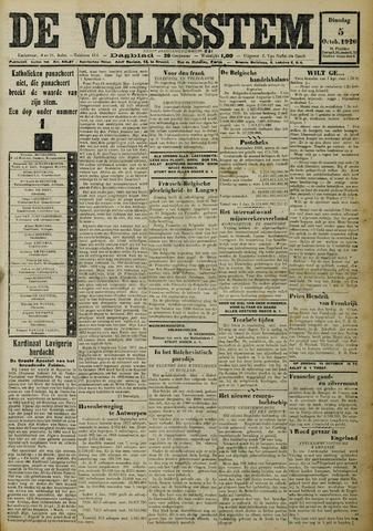 De Volksstem 1926-10-05