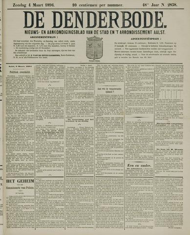 De Denderbode 1894-03-04
