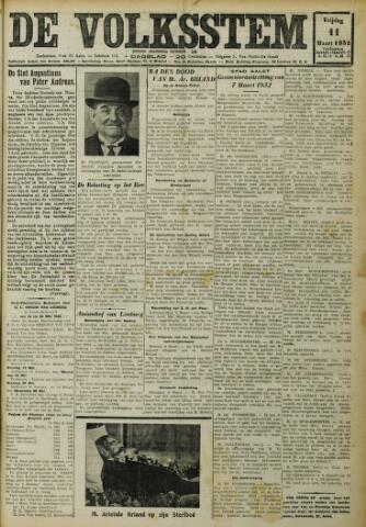 De Volksstem 1932-03-11