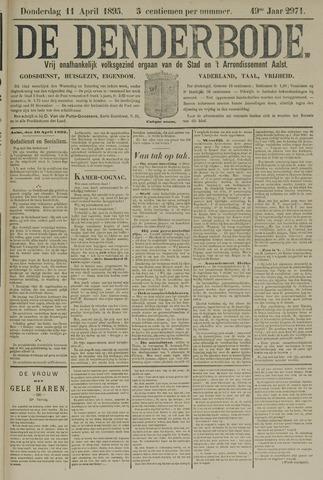 De Denderbode 1895-04-11