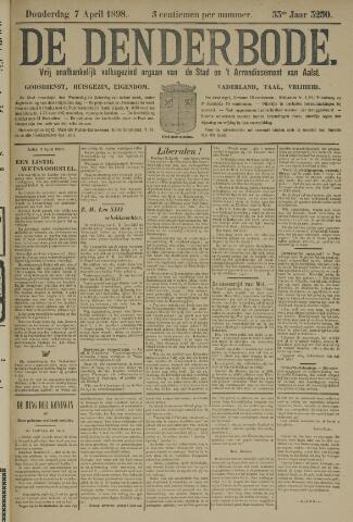 De Denderbode 1898-04-07