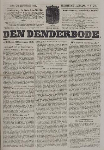 De Denderbode 1860-09-23
