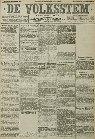 De Volksstem 1914-12-16