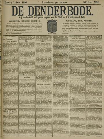 De Denderbode 1896-06-07