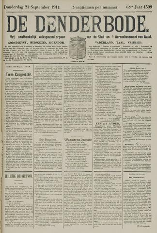 De Denderbode 1911-09-21
