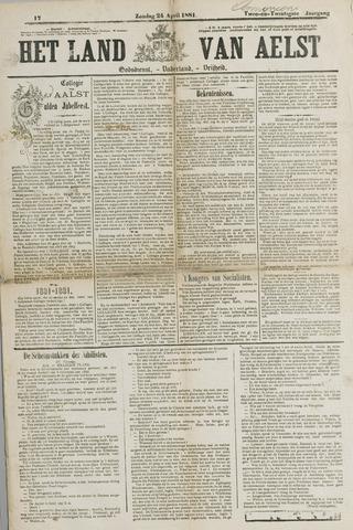Het Land van Aelst 1881-04-24