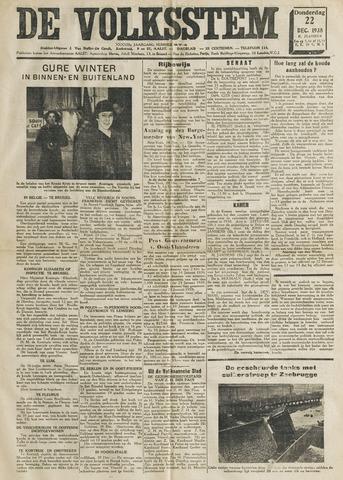 De Volksstem 1938-12-22
