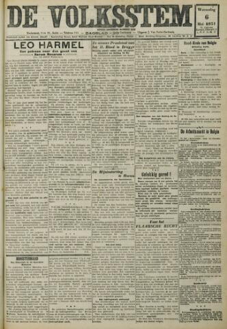 De Volksstem 1931-05-06