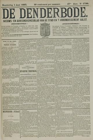 De Denderbode 1893-06-01