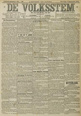 De Volksstem 1910-09-14