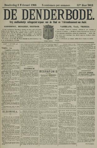 De Denderbode 1906-02-01