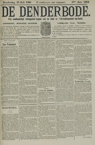 De Denderbode 1906-07-19