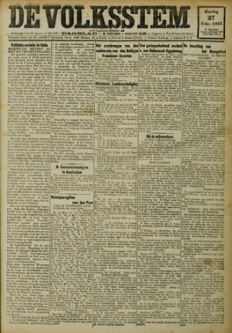 De Volksstem 1923-02-27