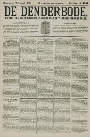 De Denderbode 1888-01-19