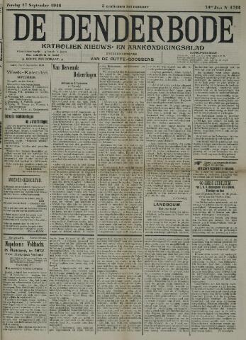De Denderbode 1916-09-17