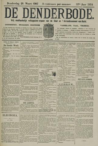 De Denderbode 1907-03-28