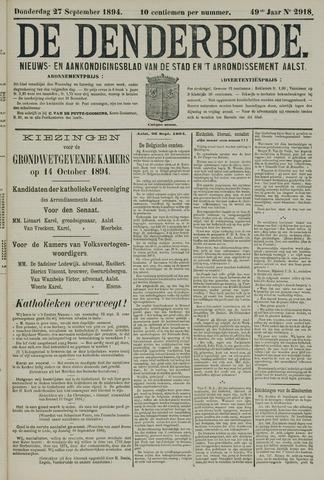 De Denderbode 1894-09-27
