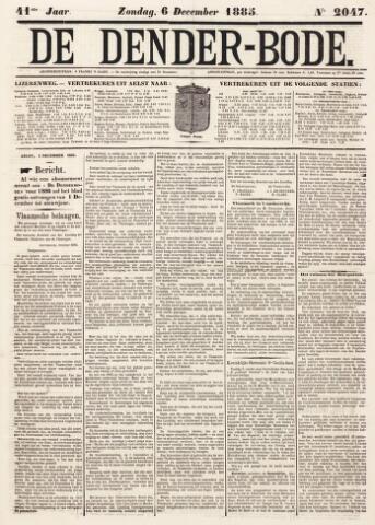 De Denderbode 1885-12-06