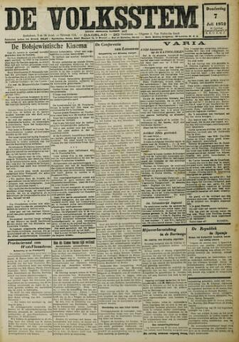 De Volksstem 1932-07-07