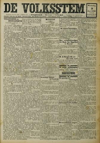 De Volksstem 1926-06-09