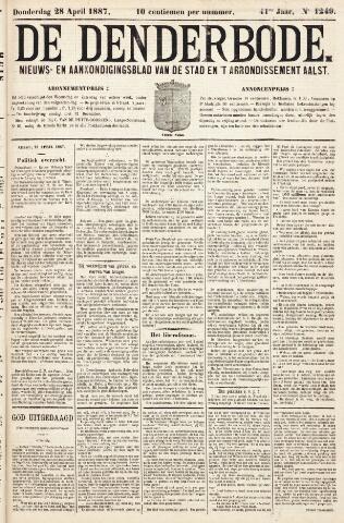 De Denderbode 1887-04-28