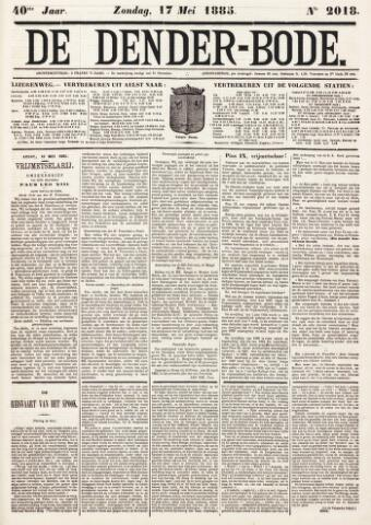 De Denderbode 1885-05-17