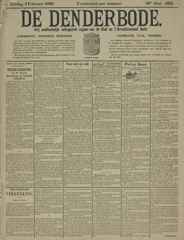 De Denderbode 1896-02-02