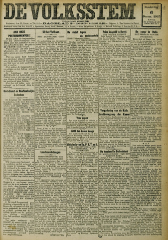 De Volksstem 1923-12-06