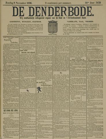 De Denderbode 1896-11-08